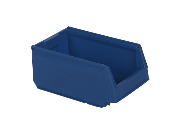Store Box - plastic storage bin - type 9073 - 350 x 206 x H 150 mm - blue 9073.000.624