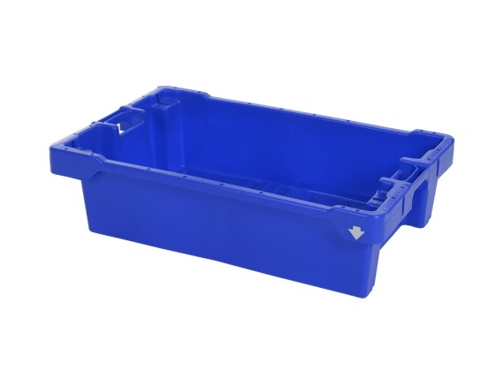 Fish box 50 kg - with drain holes 81640300 (blue) or 81641010 (natural white)