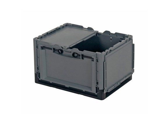 CLEVER MOVE BOX - folding box with lid - 400 x 300 x H 240 mm 1810.100