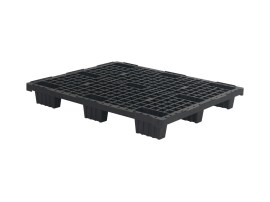 Plastic export pallet (1200 x 1000 mm - nine feet - nestable)