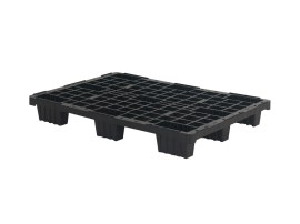 Plastic export pallet (1200 x 800 mm - nine feet - nestable)