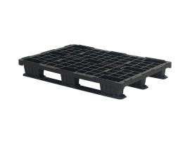Plastic export pallet - 1200 x 800 mm (3 runners)