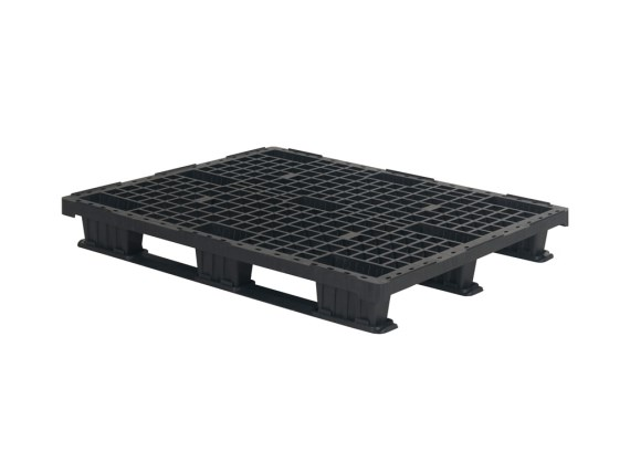 Plastic export pallet - 1200 x 1000 mm (3 runners) 55.QP.1210.LS