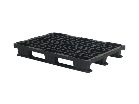 Plastic export pallet - 1200 x 800 mm (3 runners) 55.QP.1208.LS