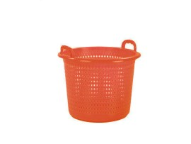 Industrial basket / washing basket 45 litre - orange