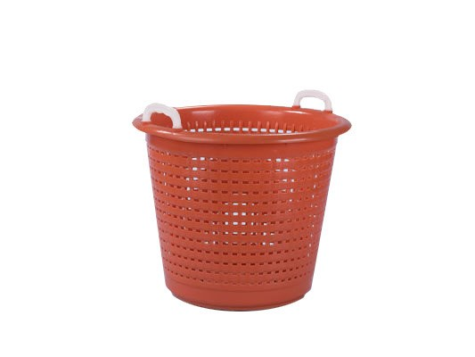 Industrial basket / washing basket 55 litre - orange 94.7955.7